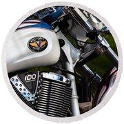 Victory 100 Cubic Inches Round Beach Towel