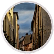 Vienne France Round Beach Towel