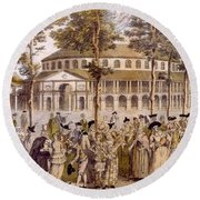 View Of The Jubilee Ball, Ranelagh Round Beach Towel