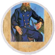 Vincent Van Gogh 7 Round Beach Towel