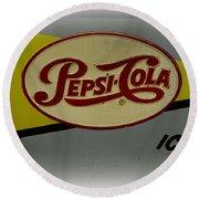 Vintage Pepsi Round Beach Towel