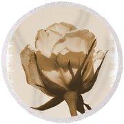 Vintage Rose 2013 Round Beach Towel