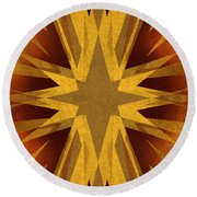 Vintage Star Round Beach Towel
