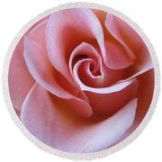 Vivacious Pink Rose 4 Round Beach Towel