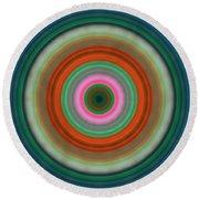 Vivid Peace - Circle Art By Sharon Cummings Round Beach Towel