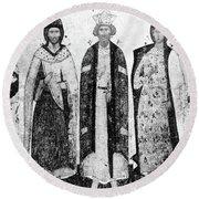 Vladimir I (956?-1015) Round Beach Towel