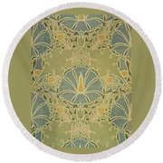 Voisey The Saladin Round Beach Towel by William Morris
