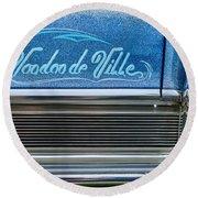 Voodoo De Ville Round Beach Towel