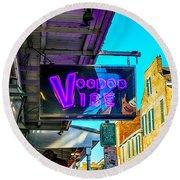 Voodoo Vibe Round Beach Towel