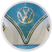 VW Round Beach Towel