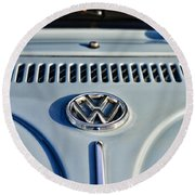 Vw Volkswagen Bug Beetle Round Beach Towel