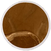 W Terra Round Beach Towel