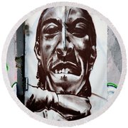 Wall Art Round Beach Towel