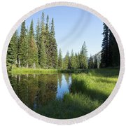 Wallowas - No. 3 Round Beach Towel