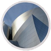 Walt Disney Concert Hall 14 Round Beach Towel