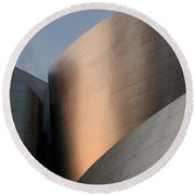 Walt Disney Concert Hall 15 Round Beach Towel