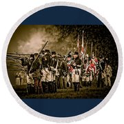 War Of 1812 Round Beach Towel