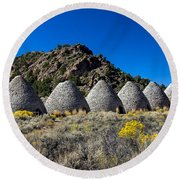 Wards Charcoal Ovens Round Beach Towel