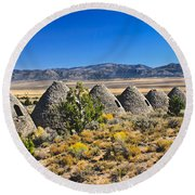 Wards Charcoal Ovens View Round Beach Towel