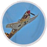 Warhawk Fighter Round Beach Towel