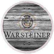 Warsteiner Round Beach Towel