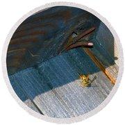 Wasp 4 Round Beach Towel