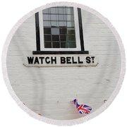Watch Bell Street Rye Round Beach Towel