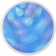 Water Balloons Spinning Round Beach Towel