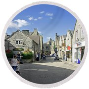Water Lane - Bakewell Round Beach Towel