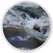 Water Mountain 1 By Jrr Round Beach Towel