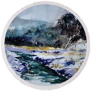 Watercolor 212103 Round Beach Towel