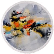Watercolor 212142 Round Beach Towel