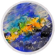 Watercolor 314040 Round Beach Towel