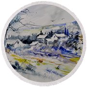 Watercolor 413010 Round Beach Towel