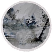 Watercolor 413052 Round Beach Towel
