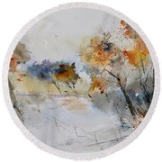 Watercolor 418022 Round Beach Towel