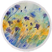 Watercolor 45417052 Round Beach Towel