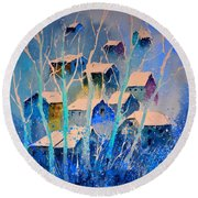 Watercolor 5110412 Round Beach Towel