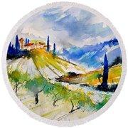 Watercolor Toscana 317040 Round Beach Towel