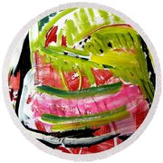 'watermelon' Round Beach Towel