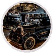 Watler P Chrysler Museum 2 Round Beach Towel