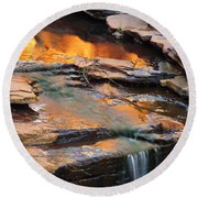 Weano Gorge - Karijini Np 2am-111671 Round Beach Towel