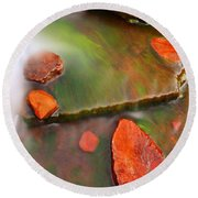 Weano Gorge - Karijini Np 2am-111702 Round Beach Towel
