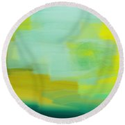Weather The Abstract Point Of View - Meteorologist - Meteorology Round Beach Towel