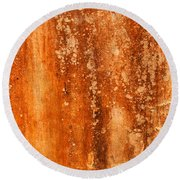 Weathered Wall 04 Round Beach Towel