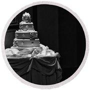 Wedding Cake Round Beach Towel
