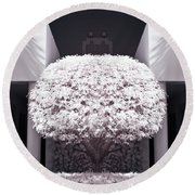 Welcome Tree Infrared Round Beach Towel