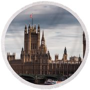 Wesminster Round Beach Towel