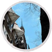 West Chester Pa 7 Round Beach Towel