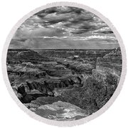 West Rim Grand Canyon National Park Round Beach Towel